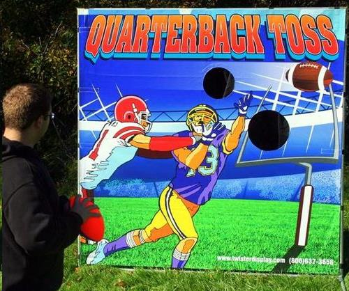 Where to find Football Toss Game in Allentown