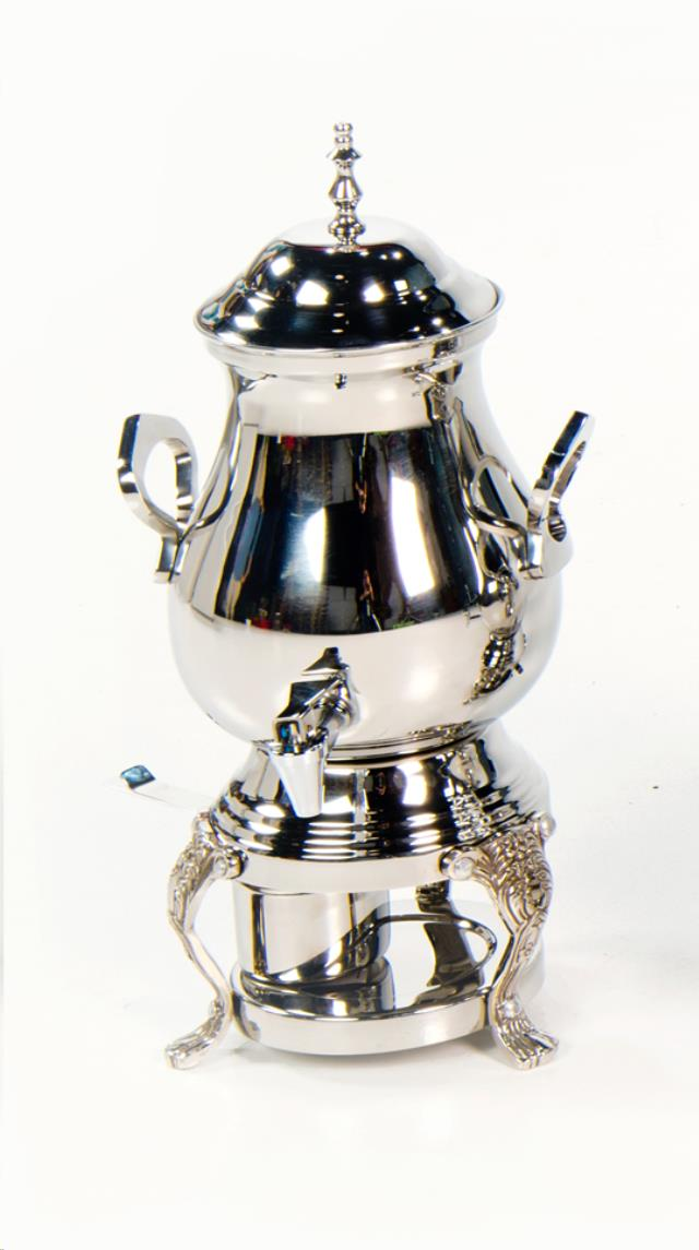 Where to find Coffee Pot Samovar Silver 25Cup Sterno in Allentown