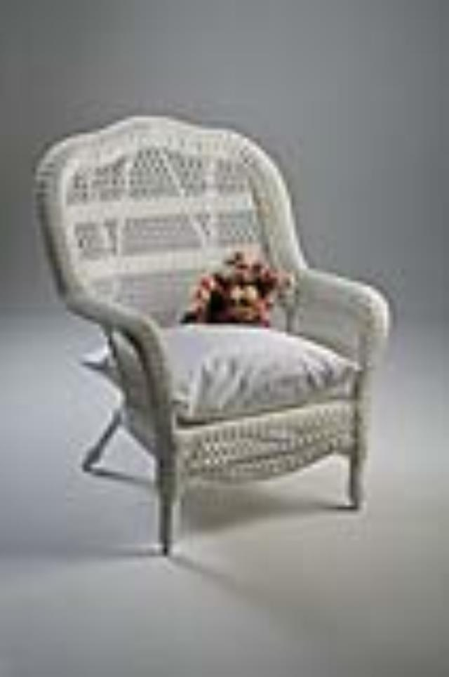 Where to find Wicker Chair, White X Large in Allentown