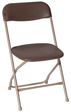 Where to find Chair Folding Aluminum Brown in Allentown