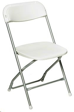 Where to find Chair Folding Aluminum White in Allentown