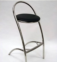 Where to find Chrome   Black Bar Stool in Allentown