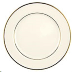 Rental store for Ivory w  Gold Dinner Plate, 10 in Allentown PA