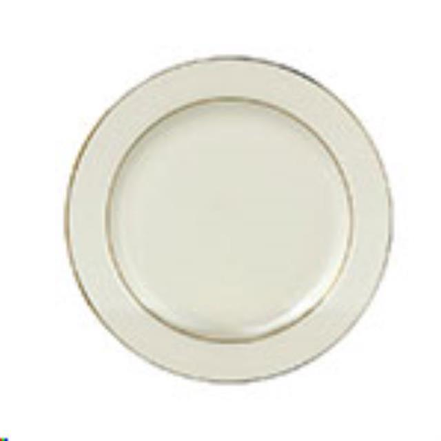Where to find Ivory w  Gold Salad Plate, 7 in Allentown