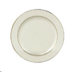 Rental store for Ivory w  Gold Salad Plate, 7 in Allentown PA