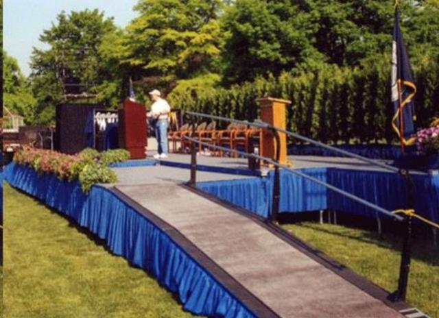 Stage 4 Foot X8 Foot Section Rentals Allentown Pa Where