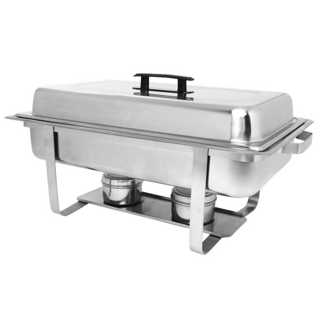 Where to find Chafer Dish Oblong Stainless 8Qrt Sterno in Allentown