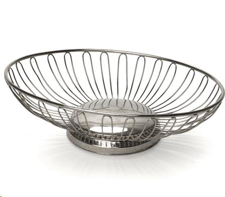 Where to find Serving Bread Basket Silver Oval in Allentown