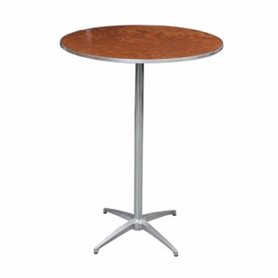 TABLE ROUND COCKTAIL 30 INCH 30 INCH OR 42 INCH HI Rentals Allentown