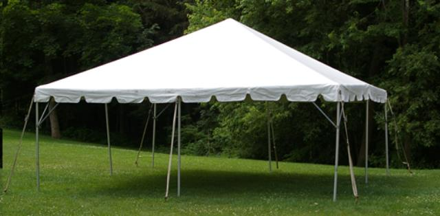 Where to find Tent, 20 X20  White Frame in Allentown