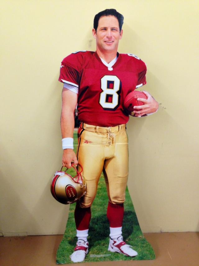Where to find Sports Football Standup Steve Young in Allentown