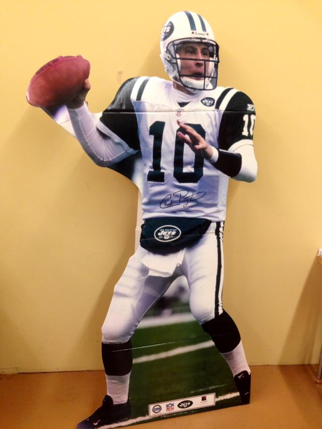 Where to find Sports Football Standup Chad Pennington in Allentown