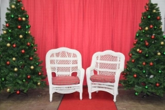 Rental store for zChristmas Santa Low Wicker Chair in Allentown PA