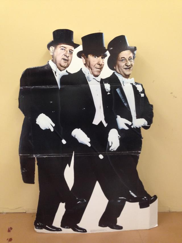 Where to find Standup Three Stooges Tuxes in Allentown