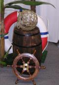 Rental store for Nautical Ship Wheel, 18 in Allentown PA