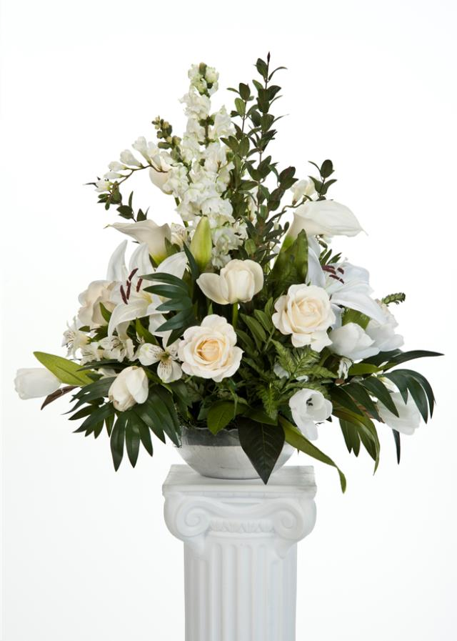 Where to find White Flowers for Stand in Allentown