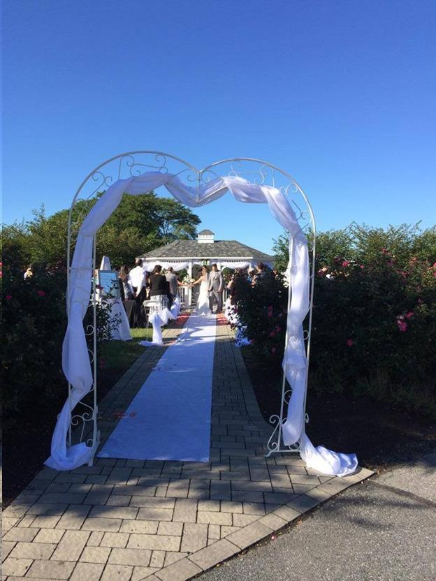 Wedding Arch Heart White Rentals Allentown Pa Where To