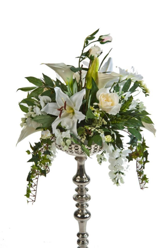 White Lilly Centerpiece Rentals Allentown Pa Where To Rent White