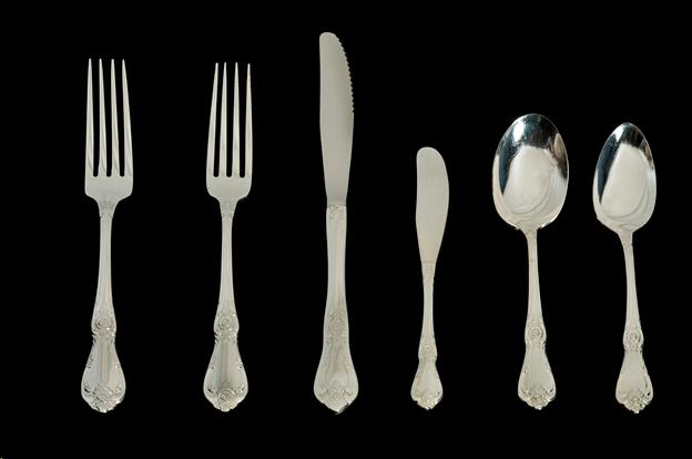 Where to find Silver Flatware in Vanessa style in Allentown