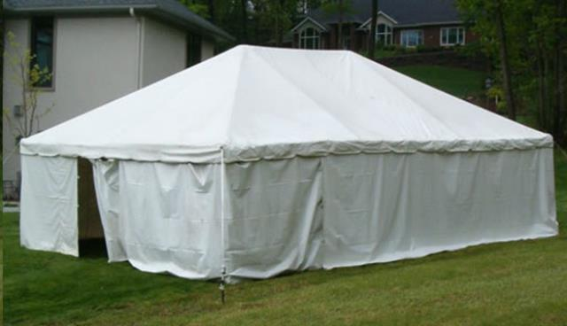 Where to find Tent Walls Solid White in Allentown