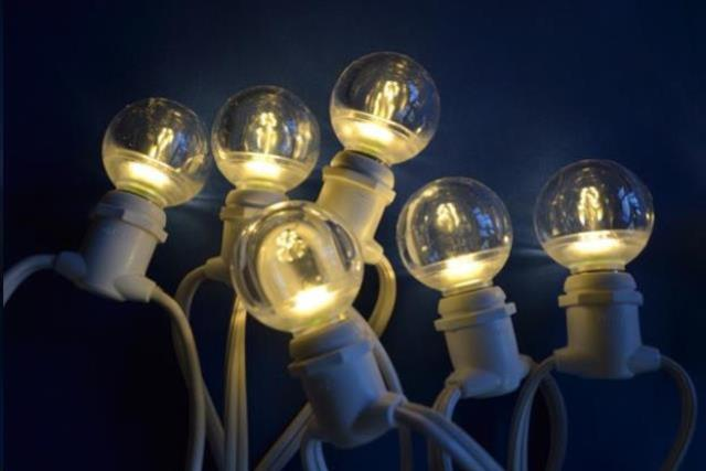 Where to find Tent Lights Bistro 56   45 bulbs in Allentown