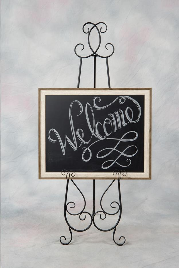 Where to find Wedding Decorative Chalk Board Only in Allentown