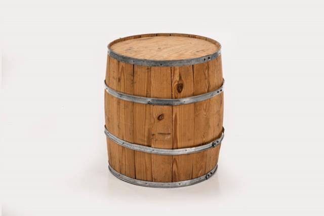 Where to find Wooden Barrels Medium 24  Hi x 18  Dia in Allentown