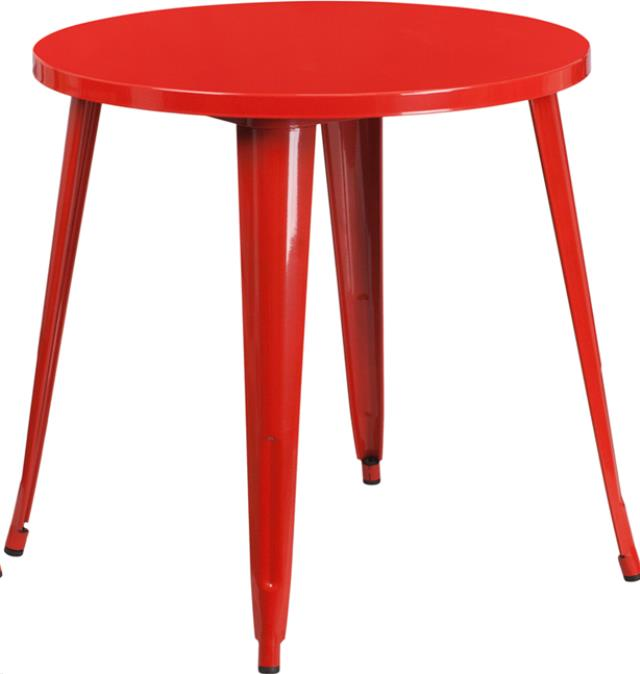 Where to find Table Round Cocktail RED 30 Top x 42 hi in Allentown