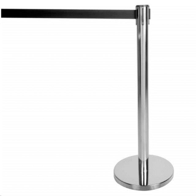 Where to find Stanchion Pole Rope 6  Retractable Blck in Allentown