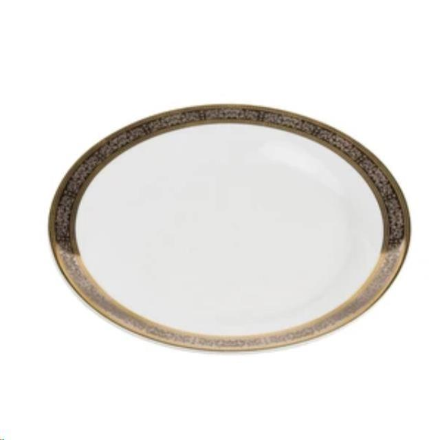 Where to find Gold   Platinum Dinner Plate, 10 in Allentown