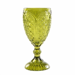 Rental store for Goblet Water Carousel Olive Green, 11 oz in Allentown PA