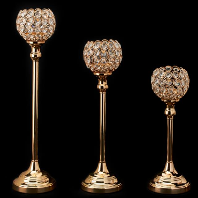 Where to find Candle Holder, Gold Ball, Set of 3 in Allentown