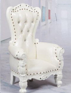 Rental store for Throne Chair, White Mini for Kids in Allentown PA