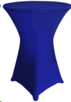 Rental store for Spandex Tablecloth Royal Blue 30  or 36 in Allentown PA