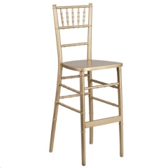 Rental store for Bar Stool Chiavari Gold in Allentown PA